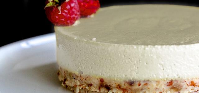 Vegan cheesecake glutenvrij