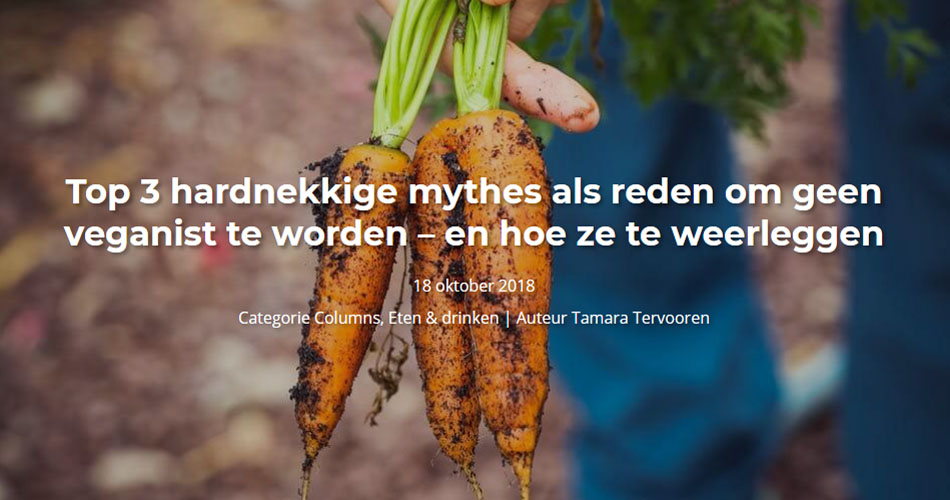 Top 3 hardnekkige mythes als reden om geen veganist te worden – en hoe ze te weerleggen