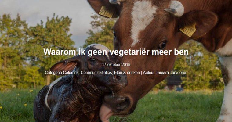 Seeds blog #12: Waarom ik geen vegetariër meer ben