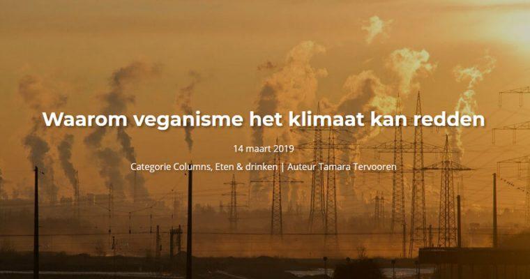 Waarom veganisme het klimaat kan redden